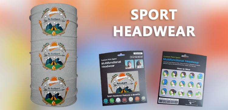 Custom Printed Sport Buff Headwear